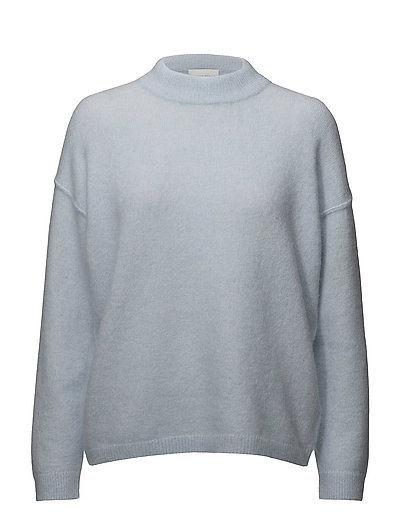Brook Knit Loose O-neck - BABY BLUE