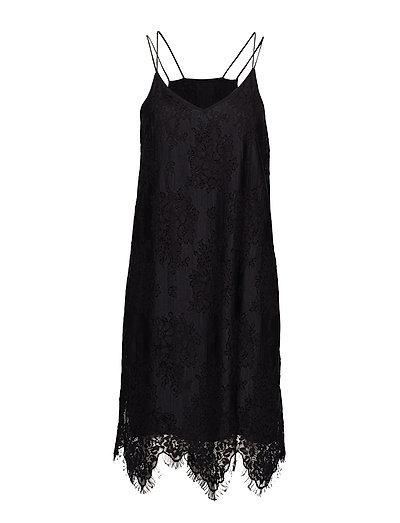 Kita Lace Dress - BLACK