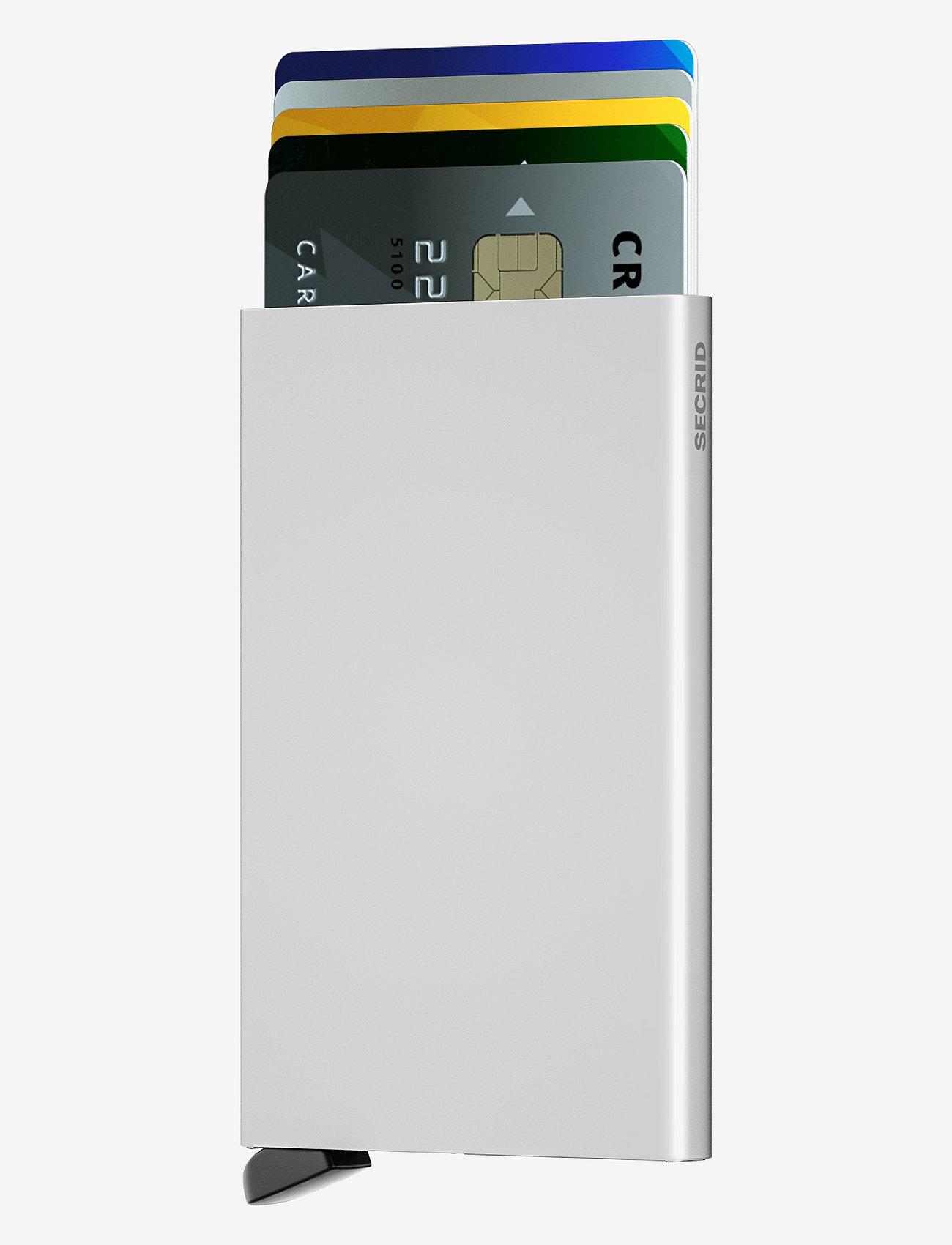 Secrid - Cardprotector - kaart houders - brushed silver - 1