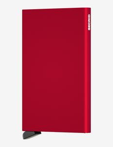 Cardprotector - kaart houders - red