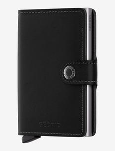 Miniwallet - beurzen - original black