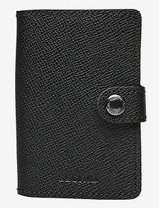 Miniwallet - beurzen - crisple black