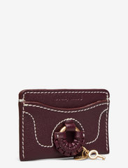 See by Chloé - TROUSERS - portemonnees - obscure purple - 2