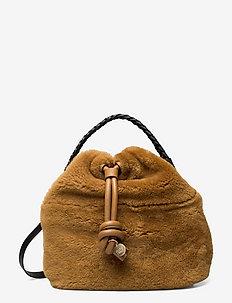 CLEME - bucketväskor - wild brown