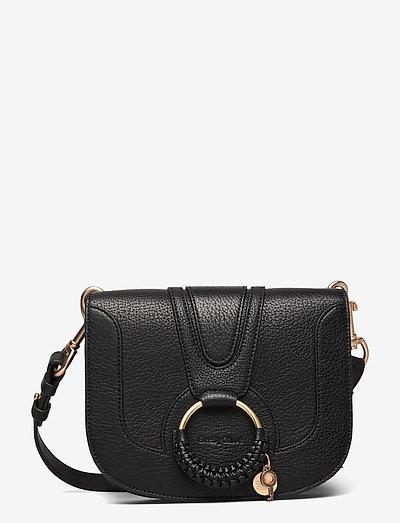HANA SBC SHOULDER BAGS - crossbody bags - black