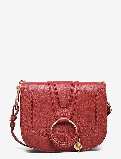 HANA SBC SHOULDER BAGS - crossbody bags - faded red