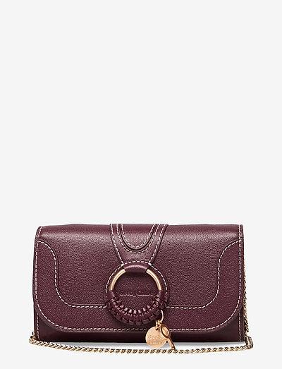 Hana wallet on chain - väskor - obscure purple