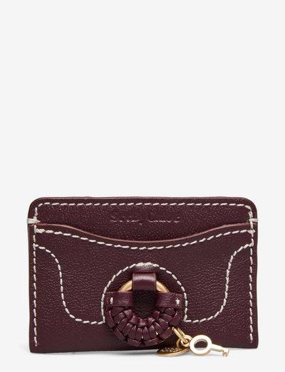 TROUSERS - portemonnees - obscure purple
