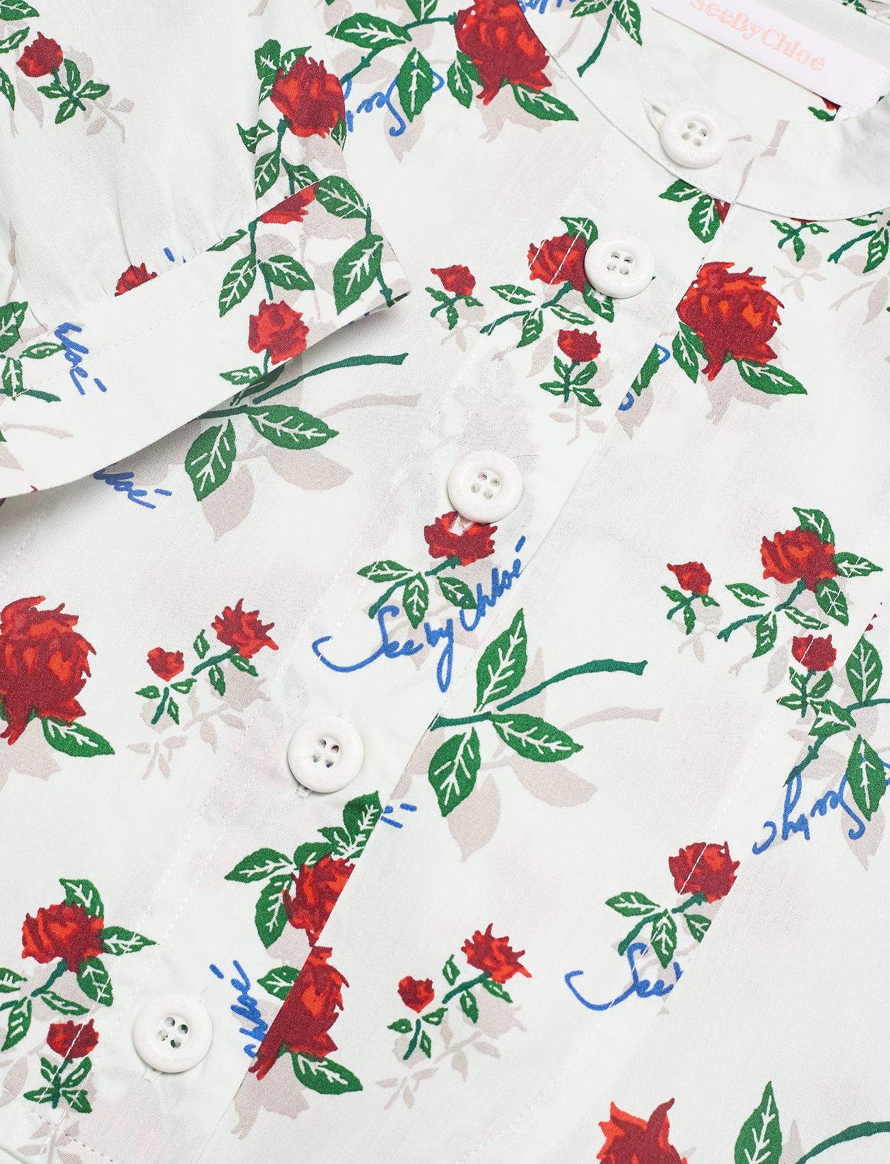 See by Chloé - DRESS - zomerjurken - multicolor white 1 - 2