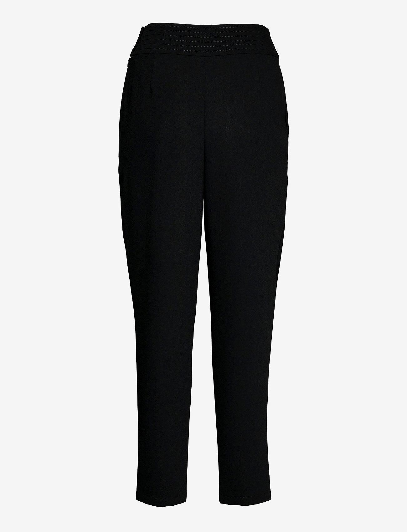 See by Chloé - TROUSERS - broeken med straight ben - black - 1