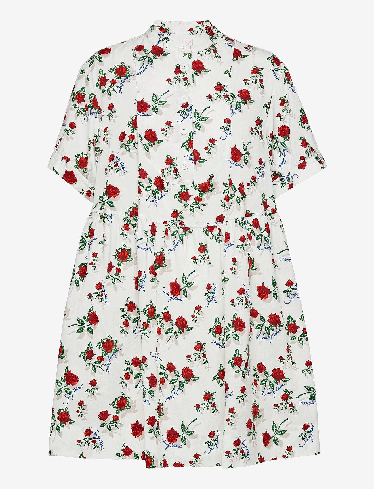 See by Chloé - DRESS - zomerjurken - multicolor white 1 - 0