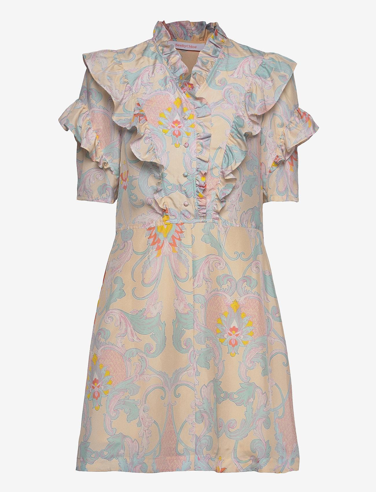 See by Chloé - DRESS - sommerkjoler - multicolor yellow 1 - 0
