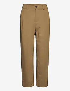 TROUSERS - chinos - amber olive