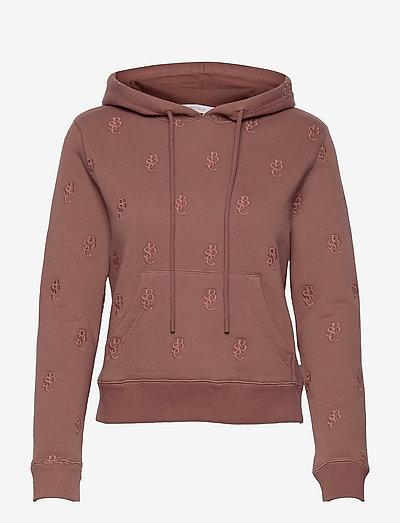 TOP - sweatshirts & hoodies - pink tea