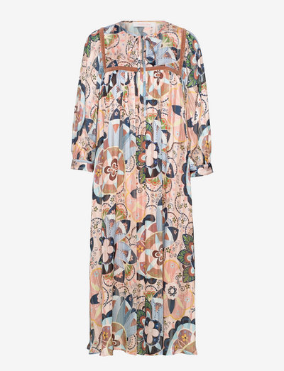 DRESS - alledaagse jurken - multicolor pink 2