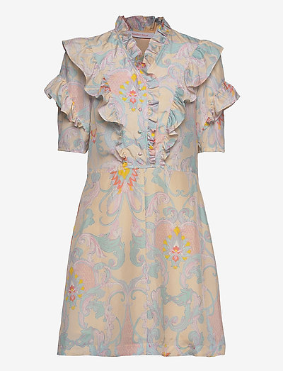 DRESS - sommerkleider - multicolor yellow 1