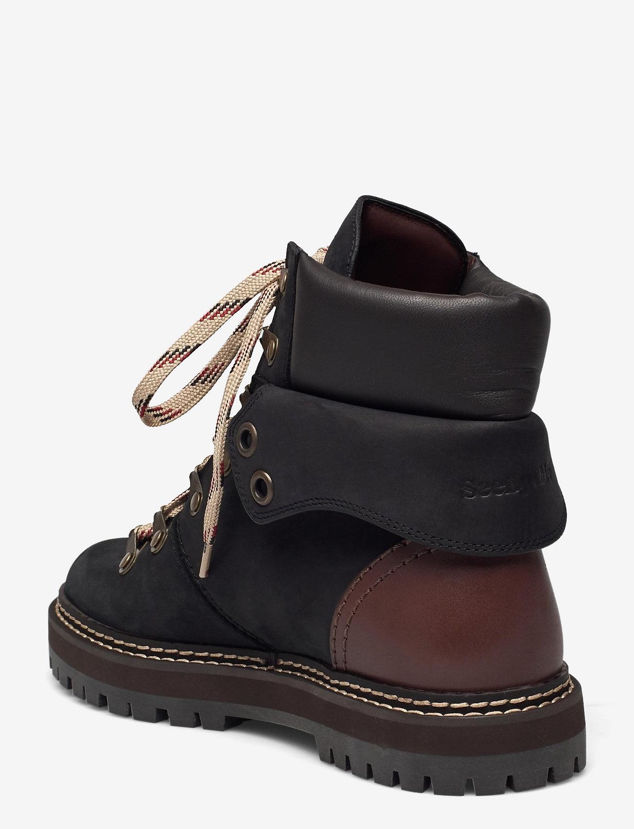 See by Chloé - FLAT ANKLE BOOTS - platte enkellaarsjes - black - 2