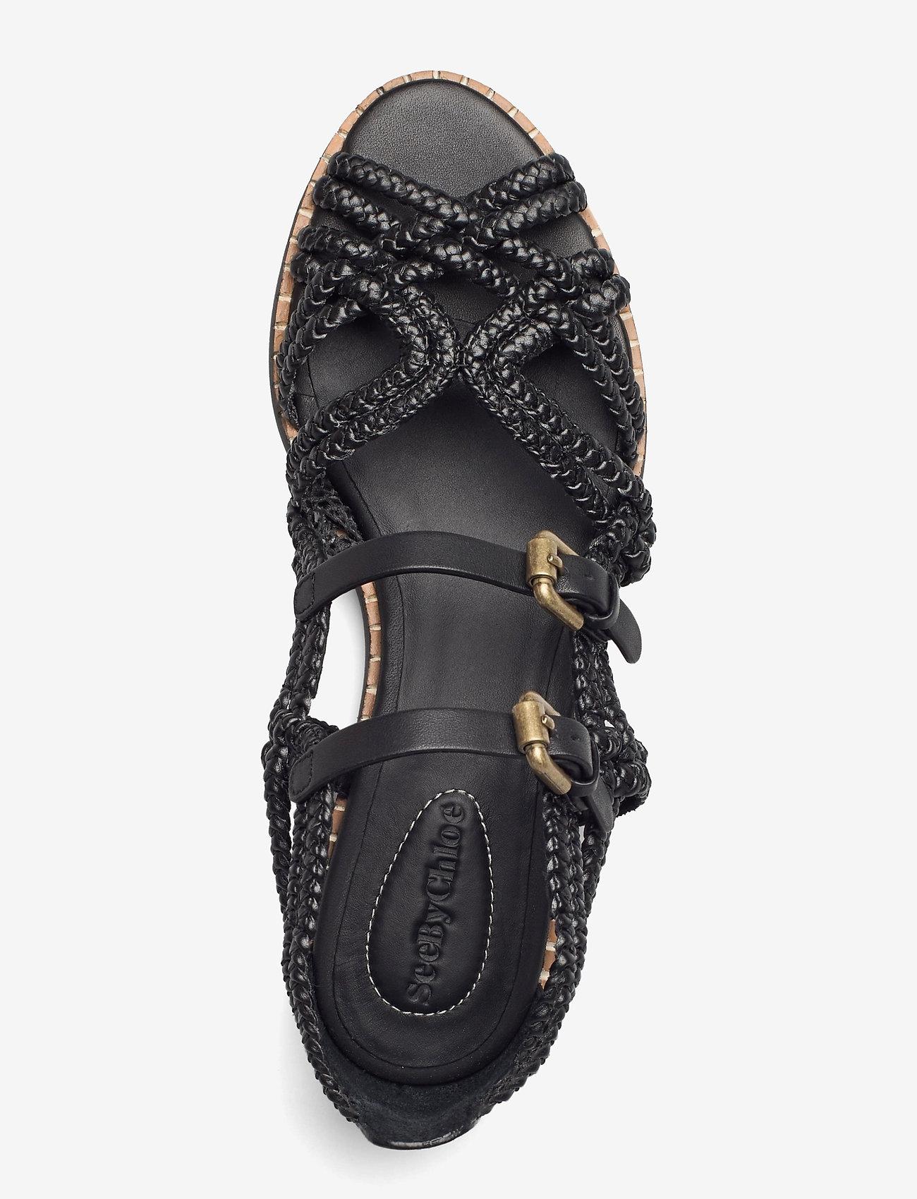 See by Chloé - KATIE - flate sandaler - nero - 3