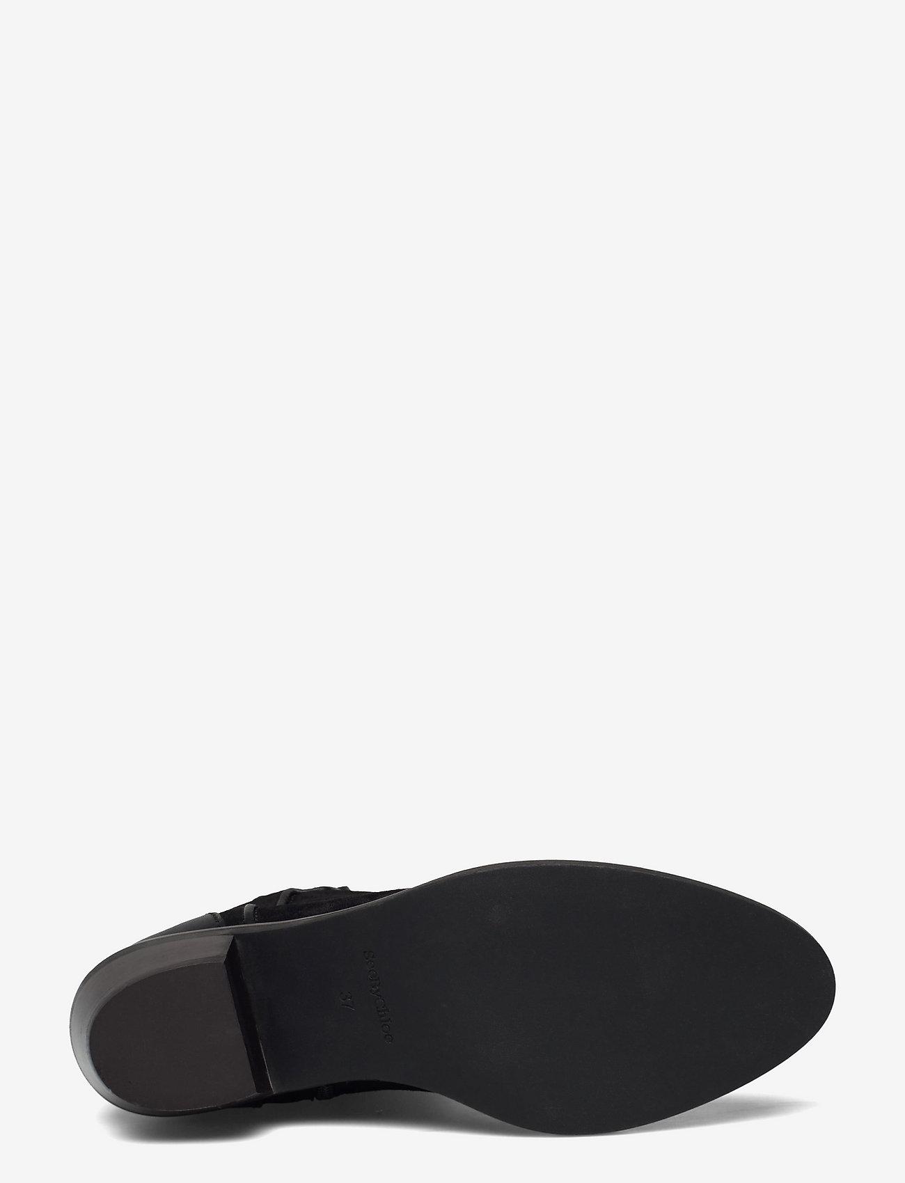 See by Chloé - COWBOY - flate ankelstøvletter - black - 4