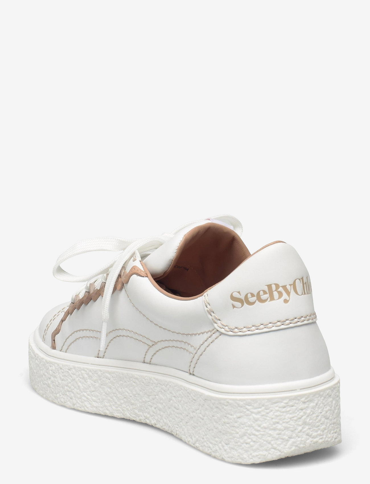 See by Chloé - LOW-TOP SNEAKERS - lage sneakers - white - nude - 2