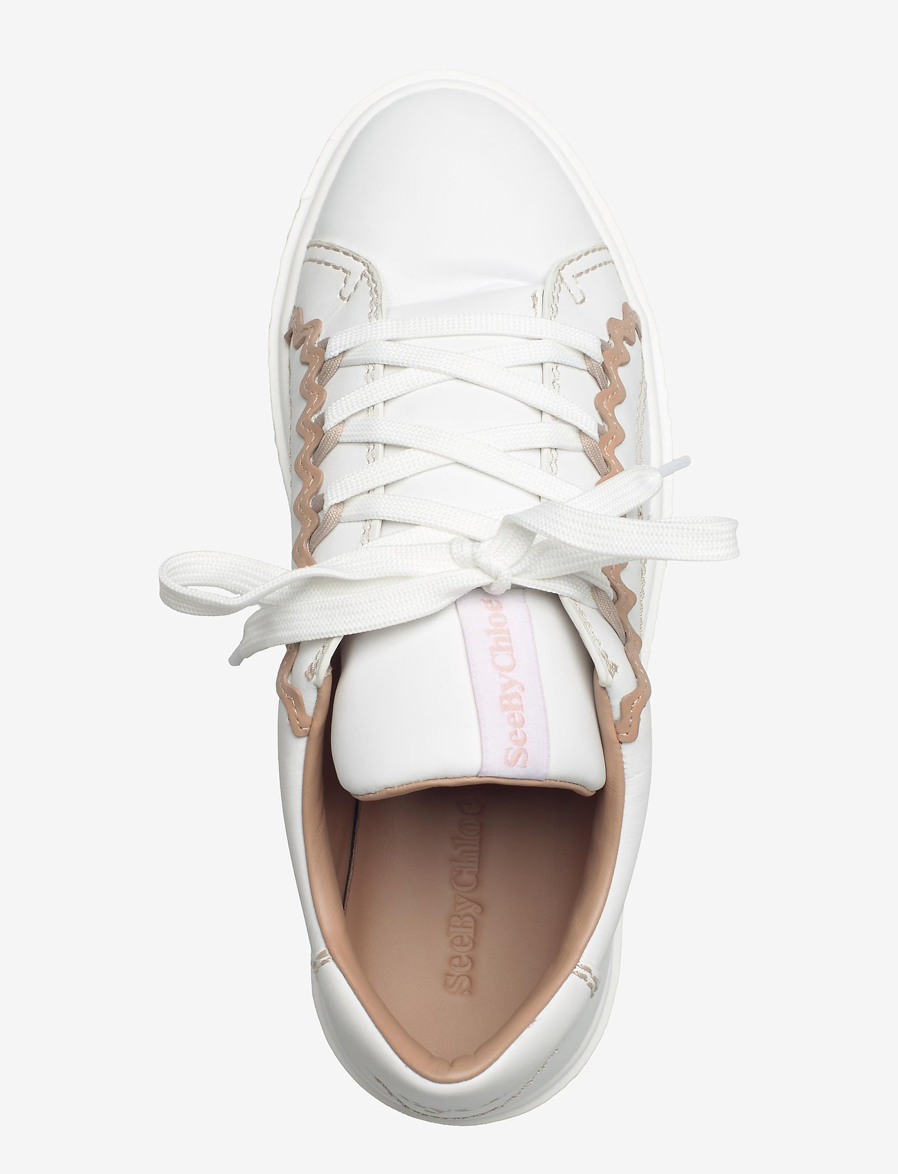 See by Chloé - LOW-TOP SNEAKERS - lage sneakers - white - nude - 3