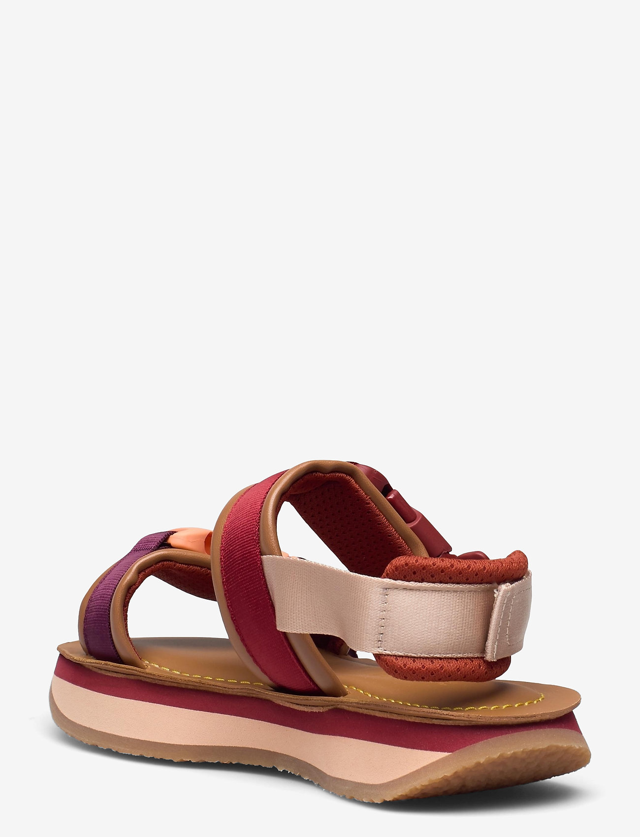 See by Chloé - YSEE - platte sandalen - cuoio - 1