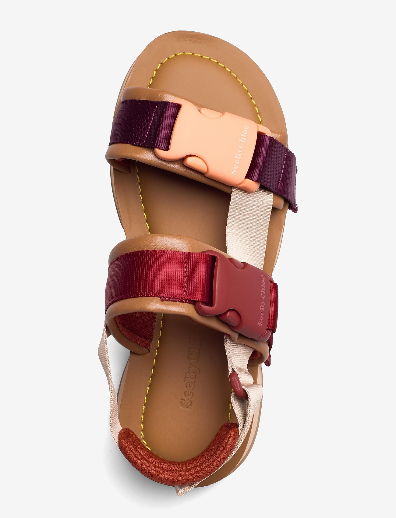 See by Chloé - YSEE - platte sandalen - cuoio - 2