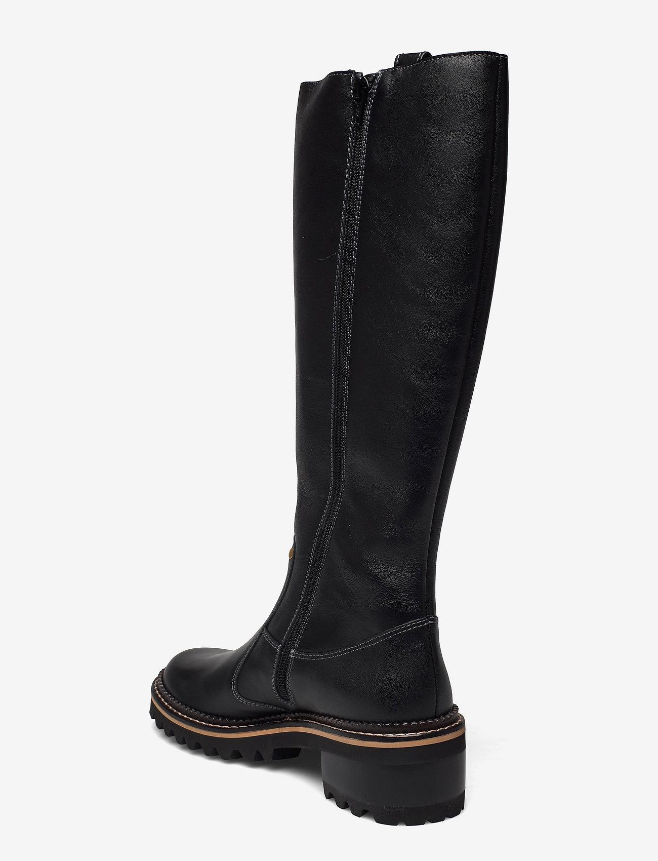 See by Chloé - FLAT BOOT - lange laarzen - black - 2