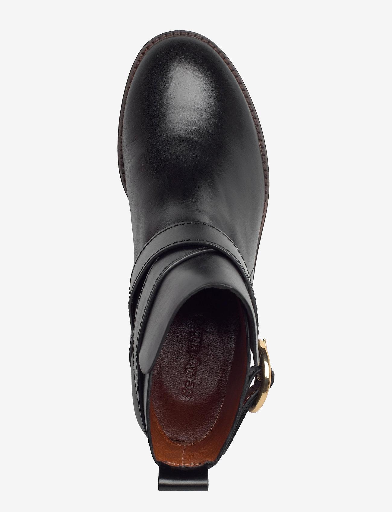 See by Chloé - FLAT ANKLE BOOTS - flate ankelstøvletter - black - 3