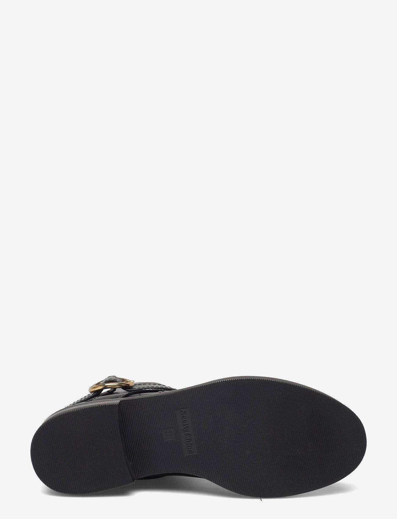 See by Chloé - FLAT ANKLE BOOTS - flate ankelstøvletter - black - 4
