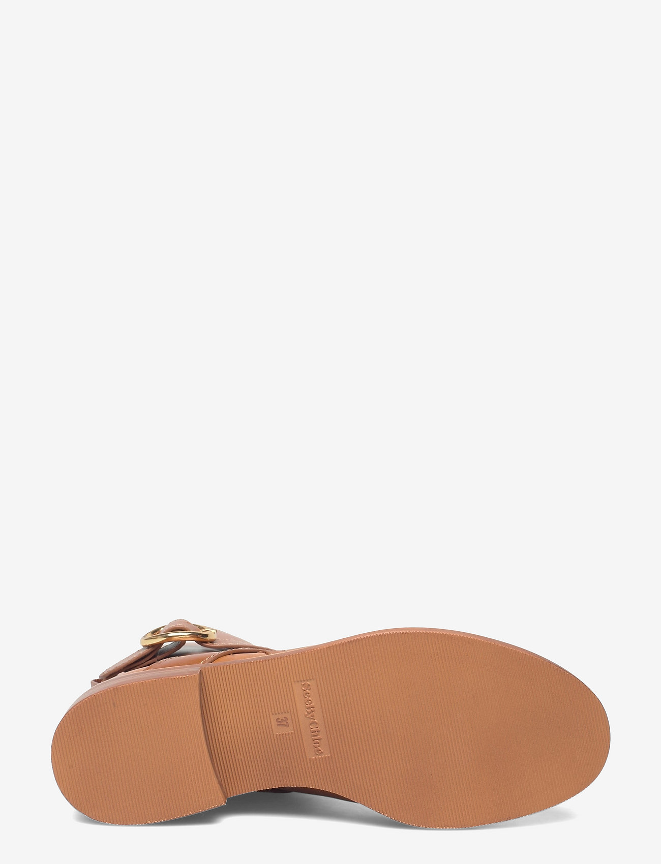 See by Chloé - FLAT ANKLE BOOTS - flate ankelstøvletter - cuoio - 4