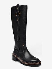 See by Chloé - FLAT BOOT - lange laarzen - black - 0