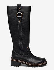 See by Chloé - FLAT BOOT - lange laarzen - black - 1
