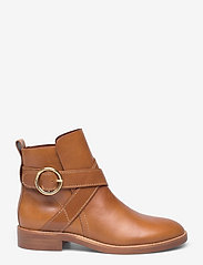 See by Chloé - FLAT ANKLE BOOTS - flate ankelstøvletter - cuoio - 1