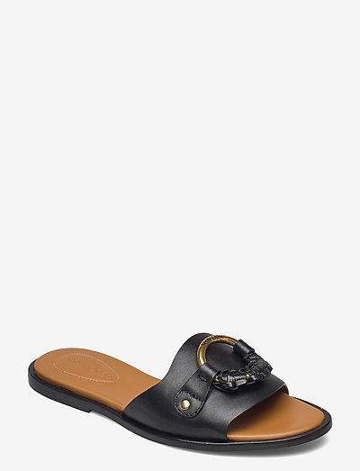 HANA - matalat sandaalit - nero