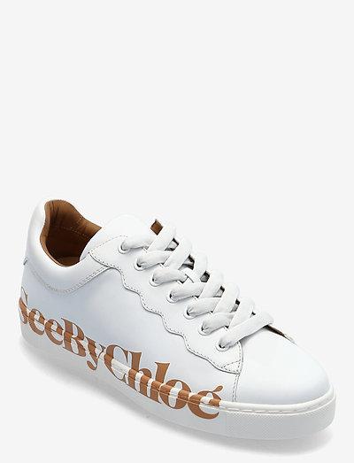ESSIE - low top sneakers - bianco