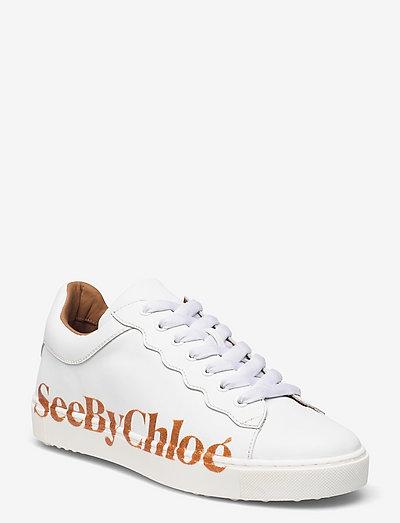 ESSIE - sneakersy niskie - white