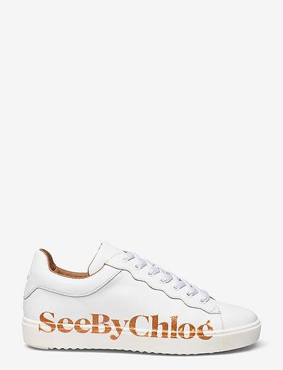 ESSIE - sneakers med lav ankel - white