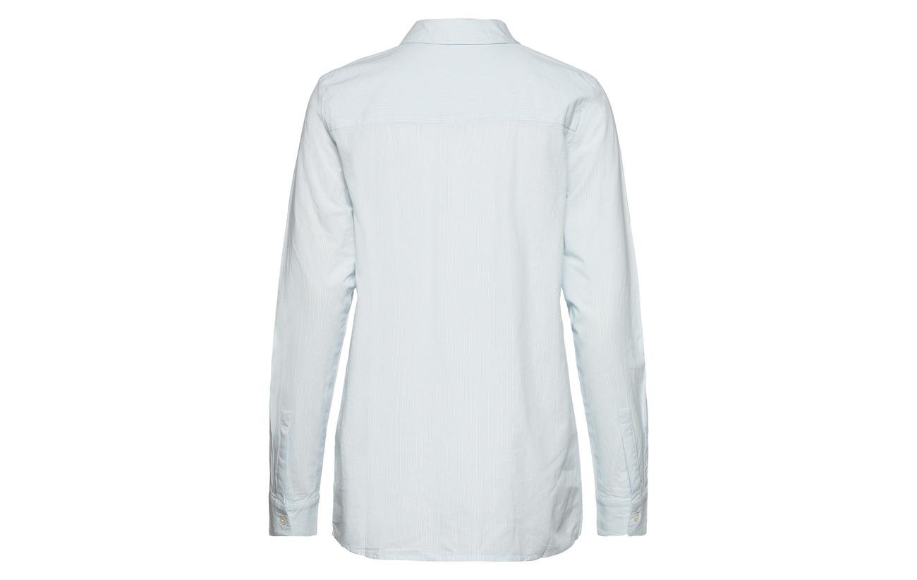 Noos Coton Selected Rose Femme Organic 100 Sepia Slfnoella Shirt Ls I6xOwn6fq