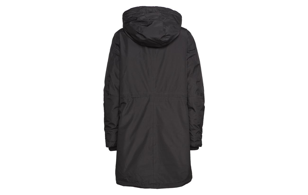 Jacket Femme Slfwammy 100 B Polyester Recyclé Black Tech Selected qSHTg
