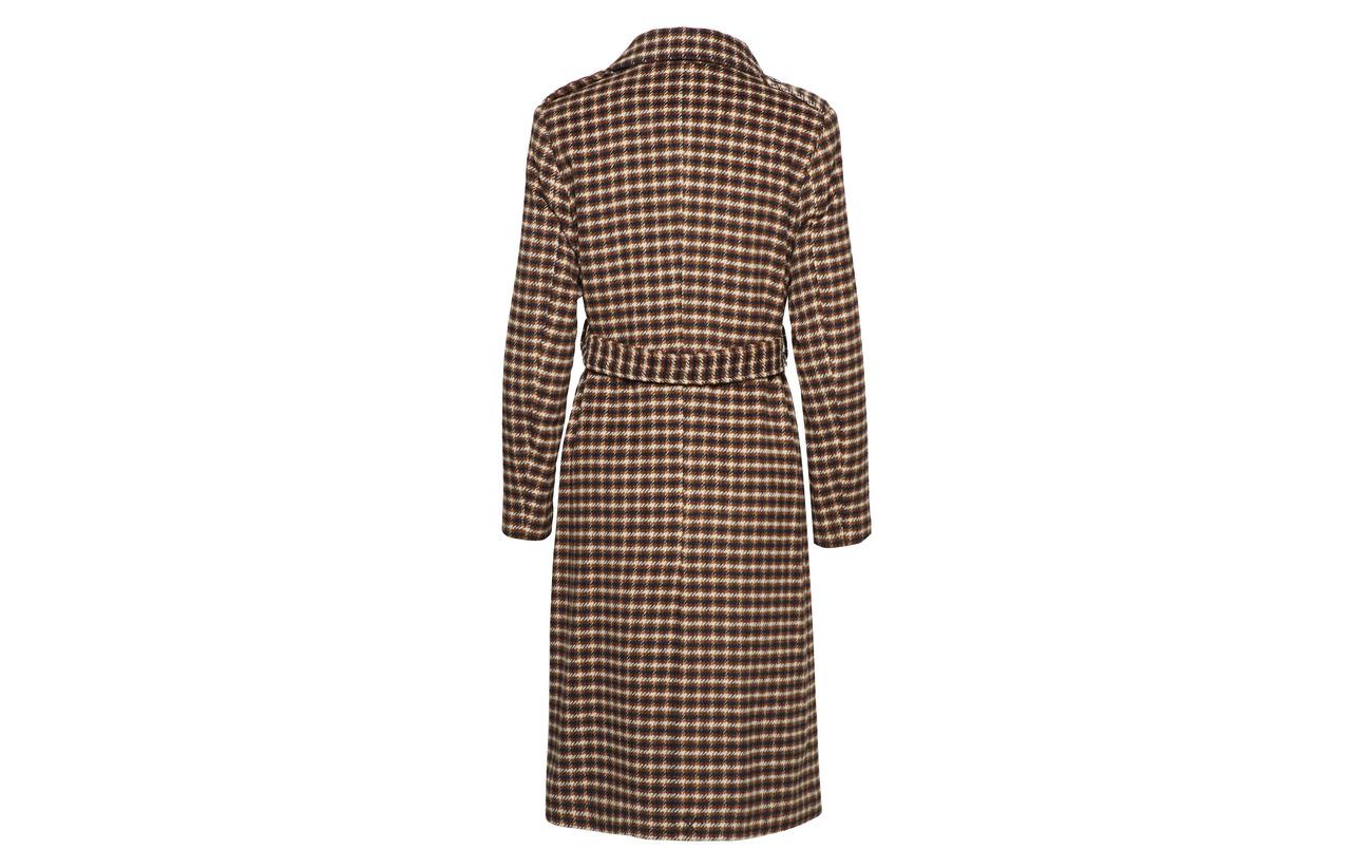 Other Femme B Coat Recyclé Fibers 50 Polyester Sand 10 Dollar Slftjekka Selected 40 Laine Wool FdOqHHw
