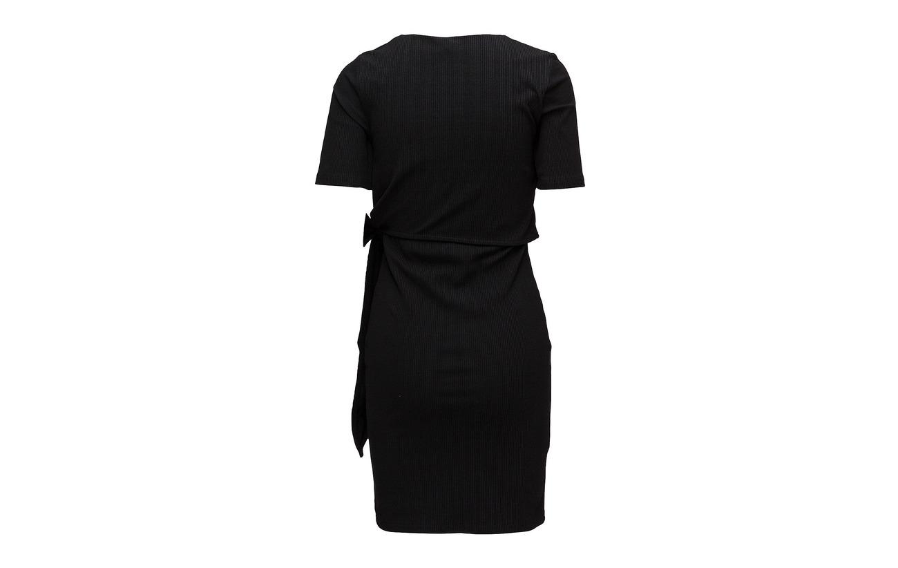 Black Femme 95 Coton Elastane Dress Slfdima Organic Ss 5 Selected B B7SWqOwAAc