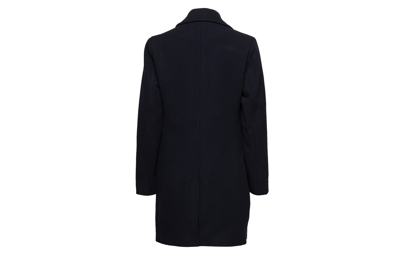 Femme Coat 10 B Cachemire Selected Slfmera Recyclé Laine Dark Navy Cashmere 90 pq6xdRt
