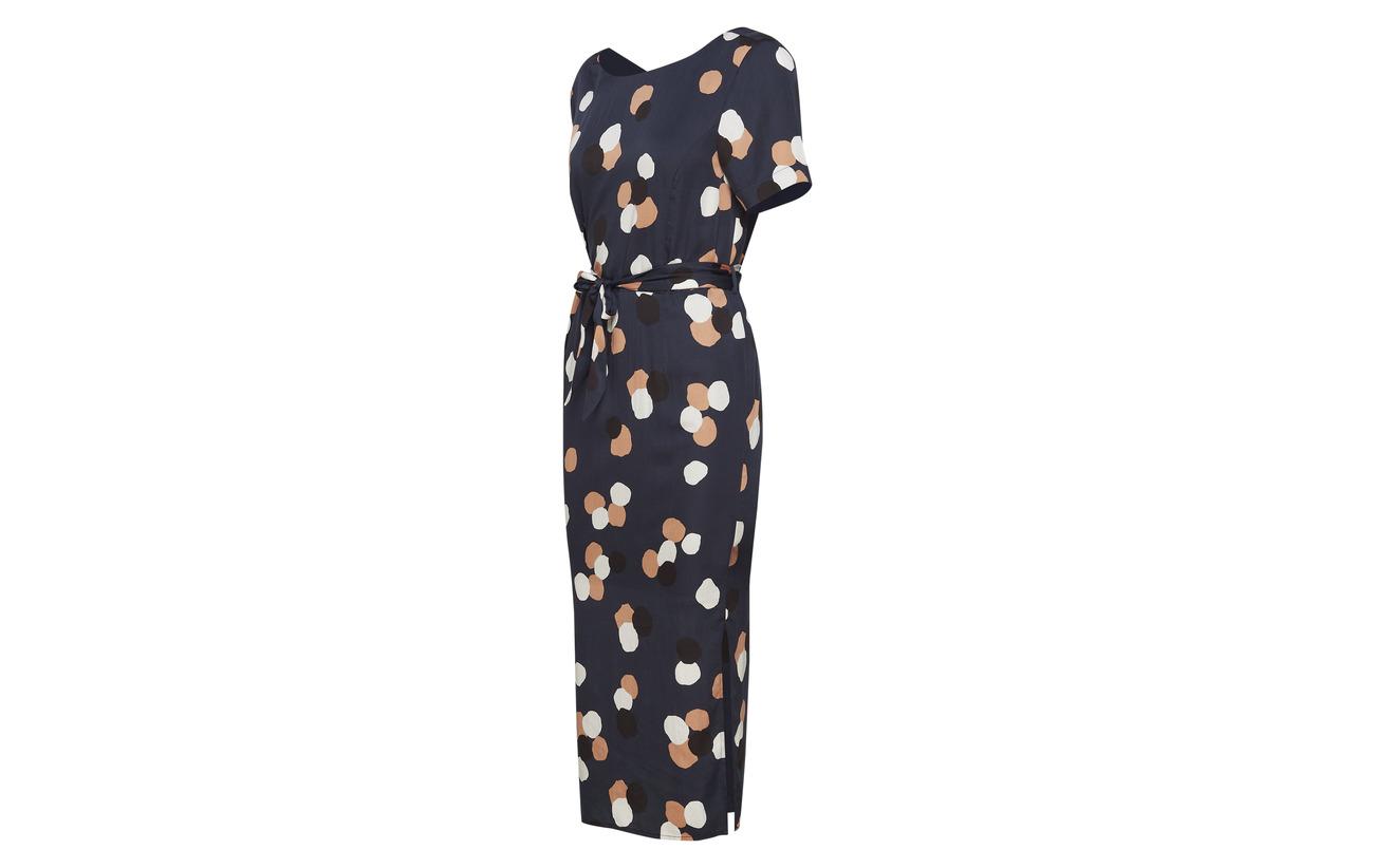 Dress Lyocell Slffoyla B Selected 2 100 Dark Sapphire 4 Femme 5zqwHrqI