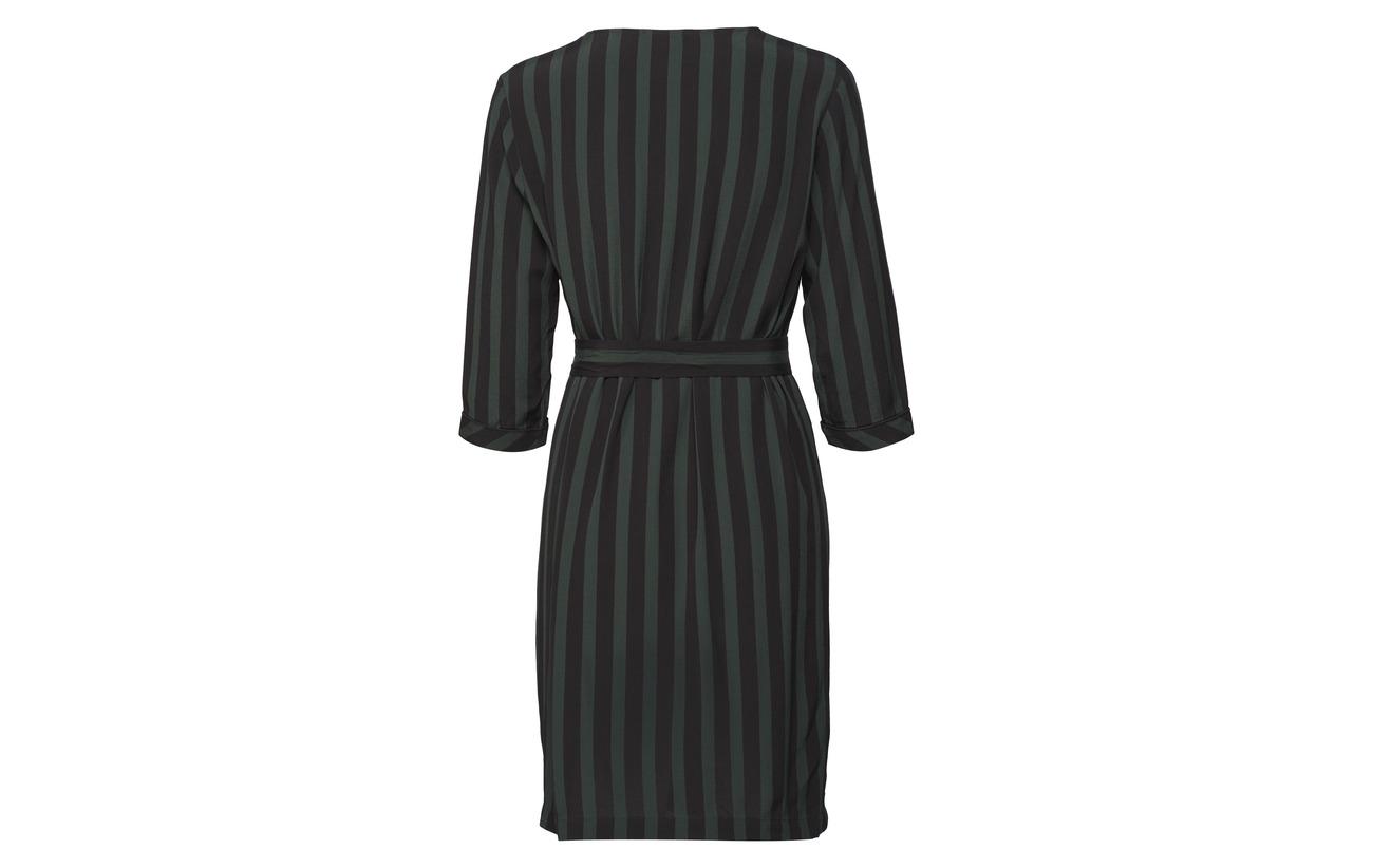 Slfflorenta Viscose Selected Black 3 Dress 4 B 100 Femme 5wxgqw8B