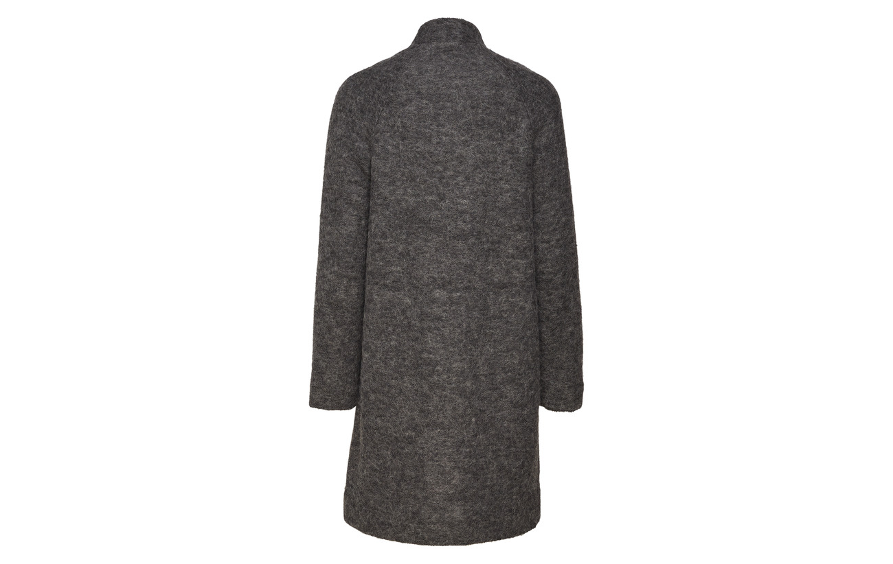 60 Grey Wool Slfnashwill Noos Polyester Selected Coat Laine 40 Medium Femme Melange x8pwxqA4Z