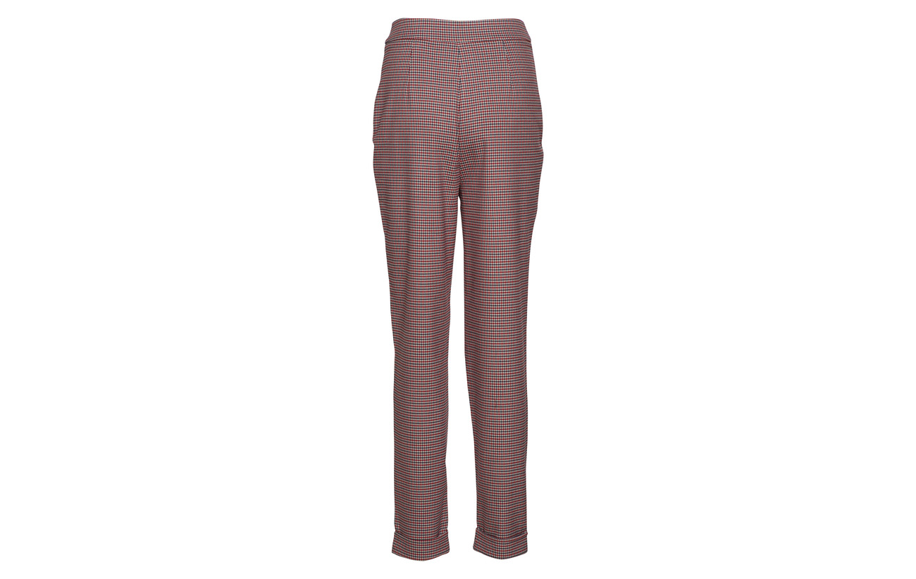 Pant 63 Up Elastane Selected Red Viscose Femme B 3 True 34 Recycledpolyester Slfbeatrice Hw Fold rRw4Xy6qz4