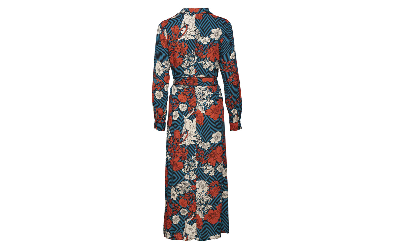 Slfgeorgia Femme 100 Ex Dress Almond Shirt Viscose Selected Toasted Ls gRxpqq