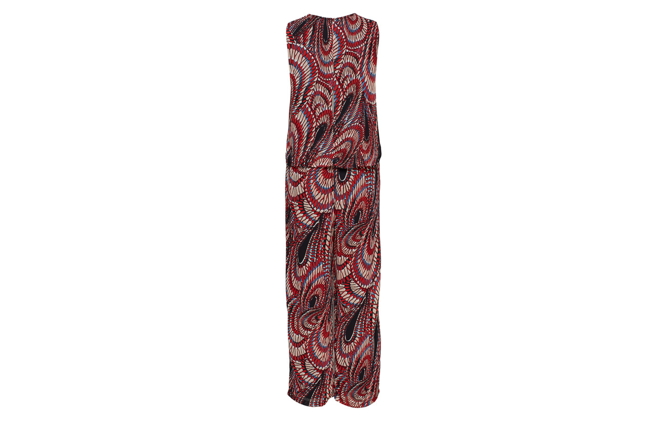Polyester Femme Sl 100 Jumpsuit Scarlet Ka Slfmaxina Selected Flame 8qOFdxHwH