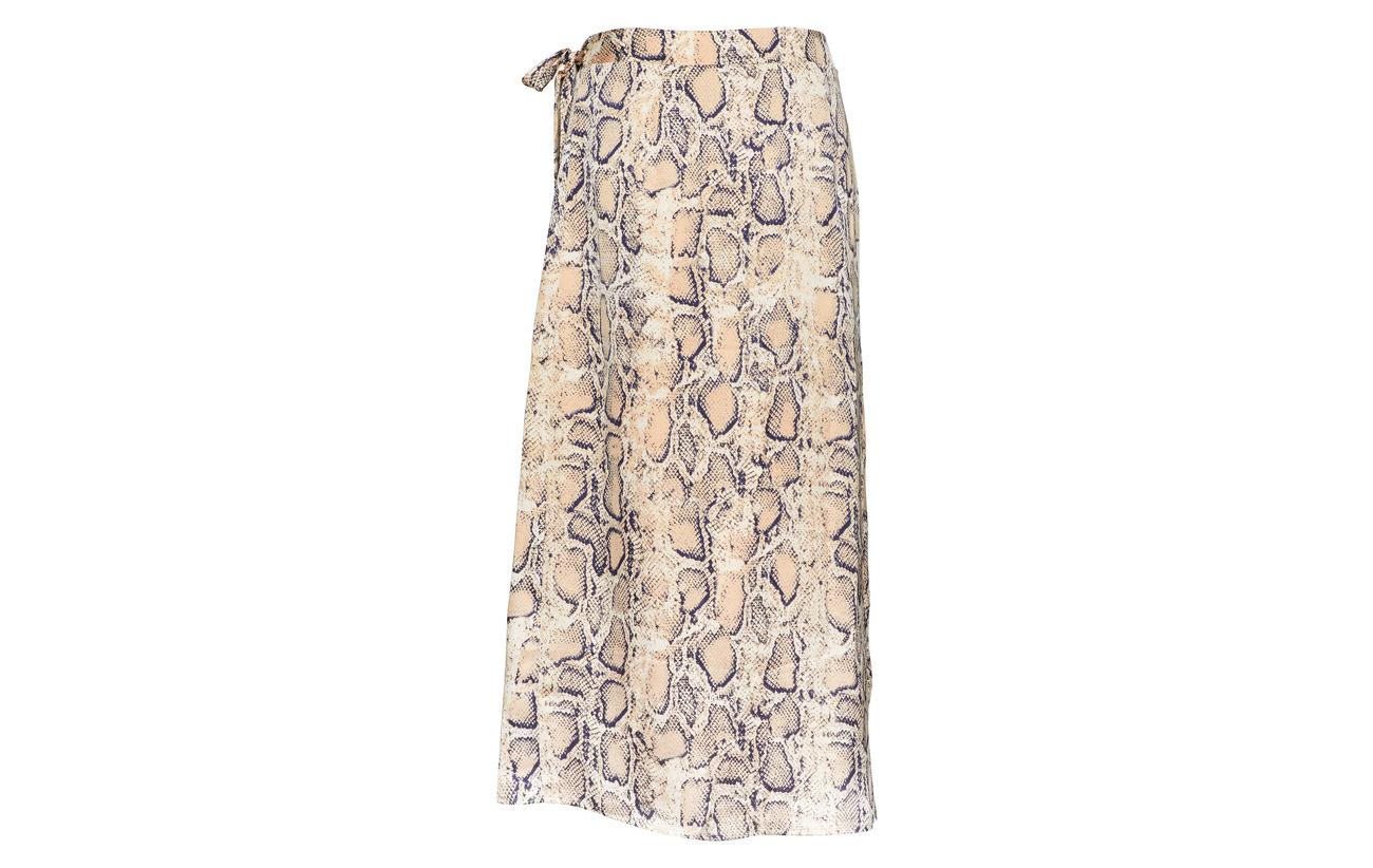 Skirt Femme Selected Birch Ex Slfsnake 100 Mw Polyester n8n4Rxw1z